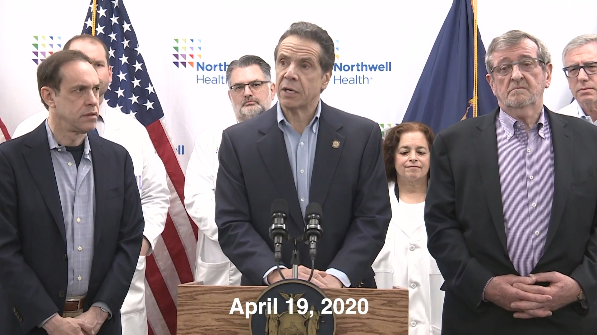 Govenor Cuomo Speaks at Northwell Labs